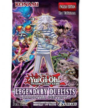 YU-GI-OH! TCG Legendary Duelist Immortal Destiny Booster