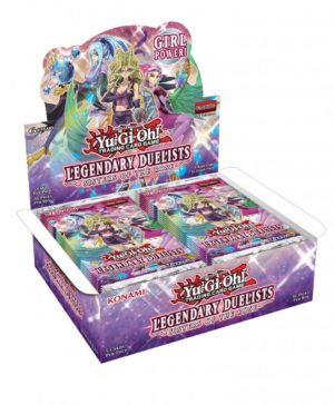 YU-GI-OH! TCG Legendary Duelist Sisters of the Rose Booster