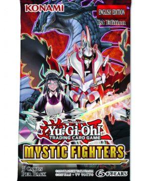 YU-GI-OH! TCG Mystic Fighters- 5 x card Booster