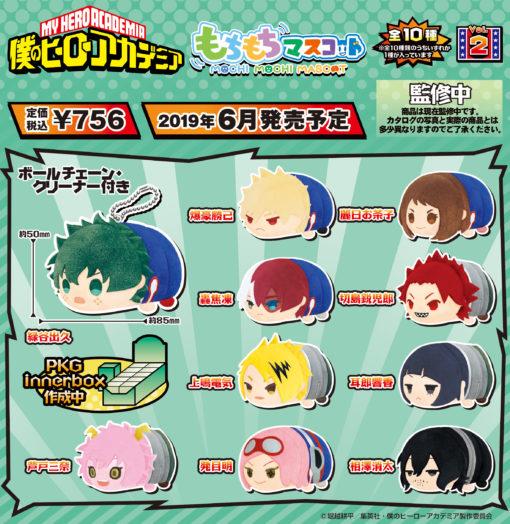 My Hero Academia Mochimochi Mascot Vol 2