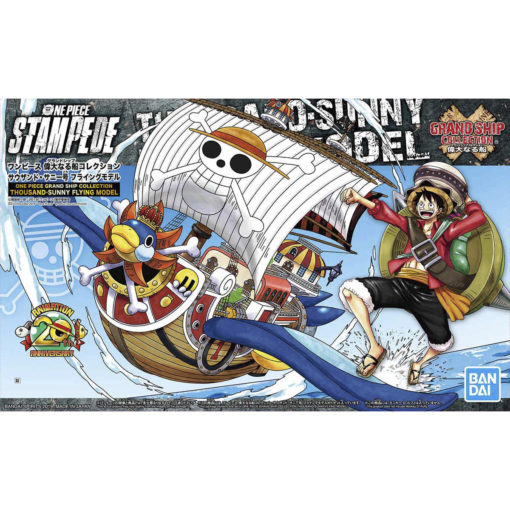 One Piece Grand Ship Collection Thousand-Sunny Flying Model