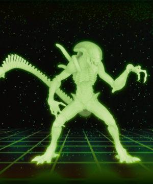 Alien Glow in the Dark Figure