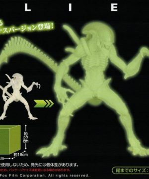 Alien Glow in the Dark Figure