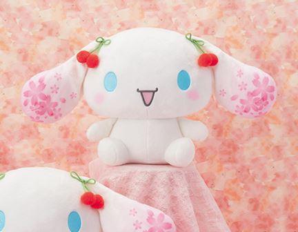 Cinnamoroll Sakura Big Plush Ver B