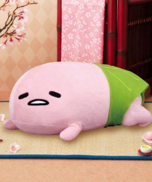 Gudetama Mochi Mochi Sakura Plush