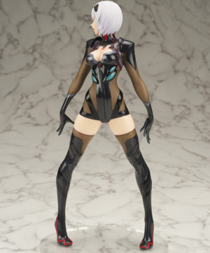 From Evangelion New Theatrical Version, Rei Ayanami is three-dimensionalized in an original arrangement costume in collaboration with illustrator Shunya Yamashita and prototype teacher Mitsumasa Yoshizawa! A beautiful touch with