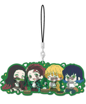 Demon Slayer Kimetsu no Yaiba Wachatto Rubber Strap A Box