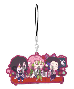 Demon Slayer Kimetsu no Yaiba Wachatto! Rubber Strap C Box