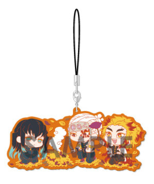 Demon Slayer Kimetsu no Yaiba Wachatto Rubber Strap D Box