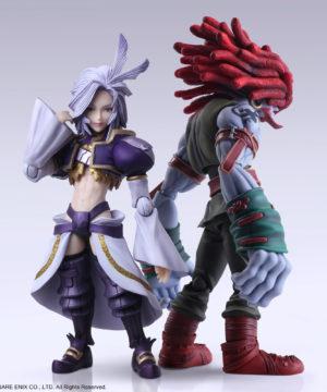 Final Fantasy IX Bring Arts Kuja & Amarant Coral