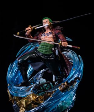 Roronoa Zoro Log Collection Large Statue Series
