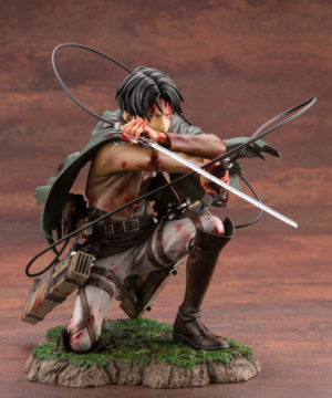 Attack on Titan Levi Fortitude ARTFX J