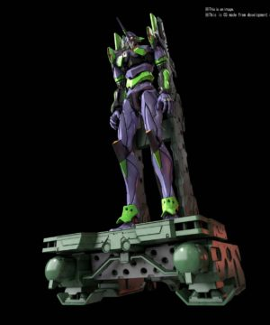 EVANGELION UNIT-01 DX TRANSPORT PLATFORM SET