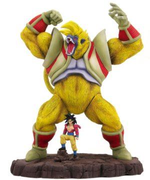 Great Monkey Baby & Super Saiyan 4 Goku