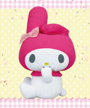 My Melody 45th Anniversary Big Plush