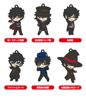 Persona 5 Dancing in Starlight Collectible Keychains