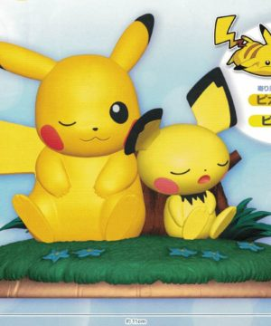 Pokemon Pikachu and Pichu