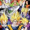 Dragon Ball Z Cell Saga Poster