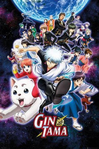 Gintama Key Art Poster