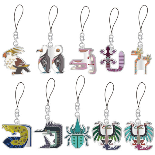 Monster Hunter Iceborne Stained Glass Type Mascot Collection