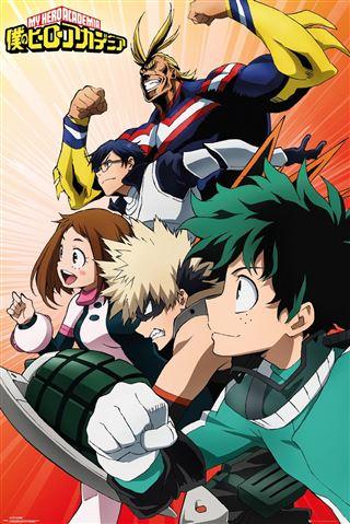 My Hero Academia Heroes Poster