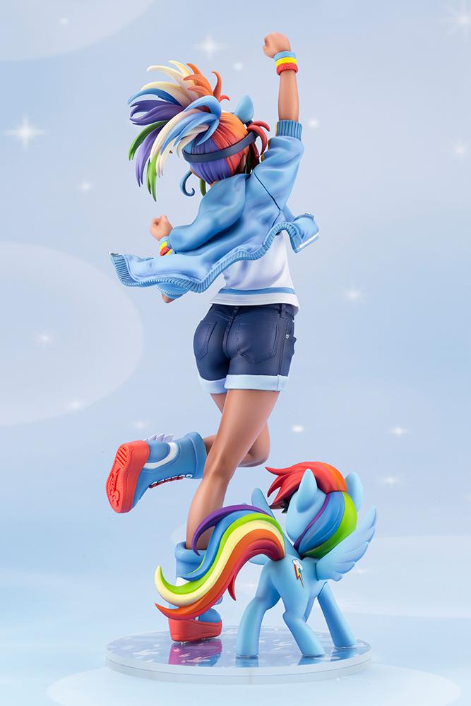 my little pony rainbow dash bishoujo  kotobukiya