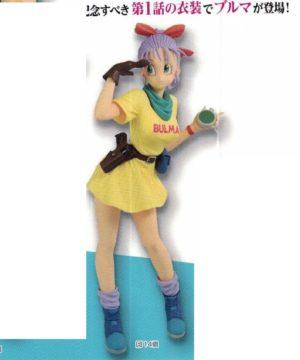 Dragon Ball Glitter & Glamours Bulma III Yellow