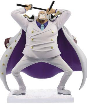 One Piece Monkey D Garp magazine figure