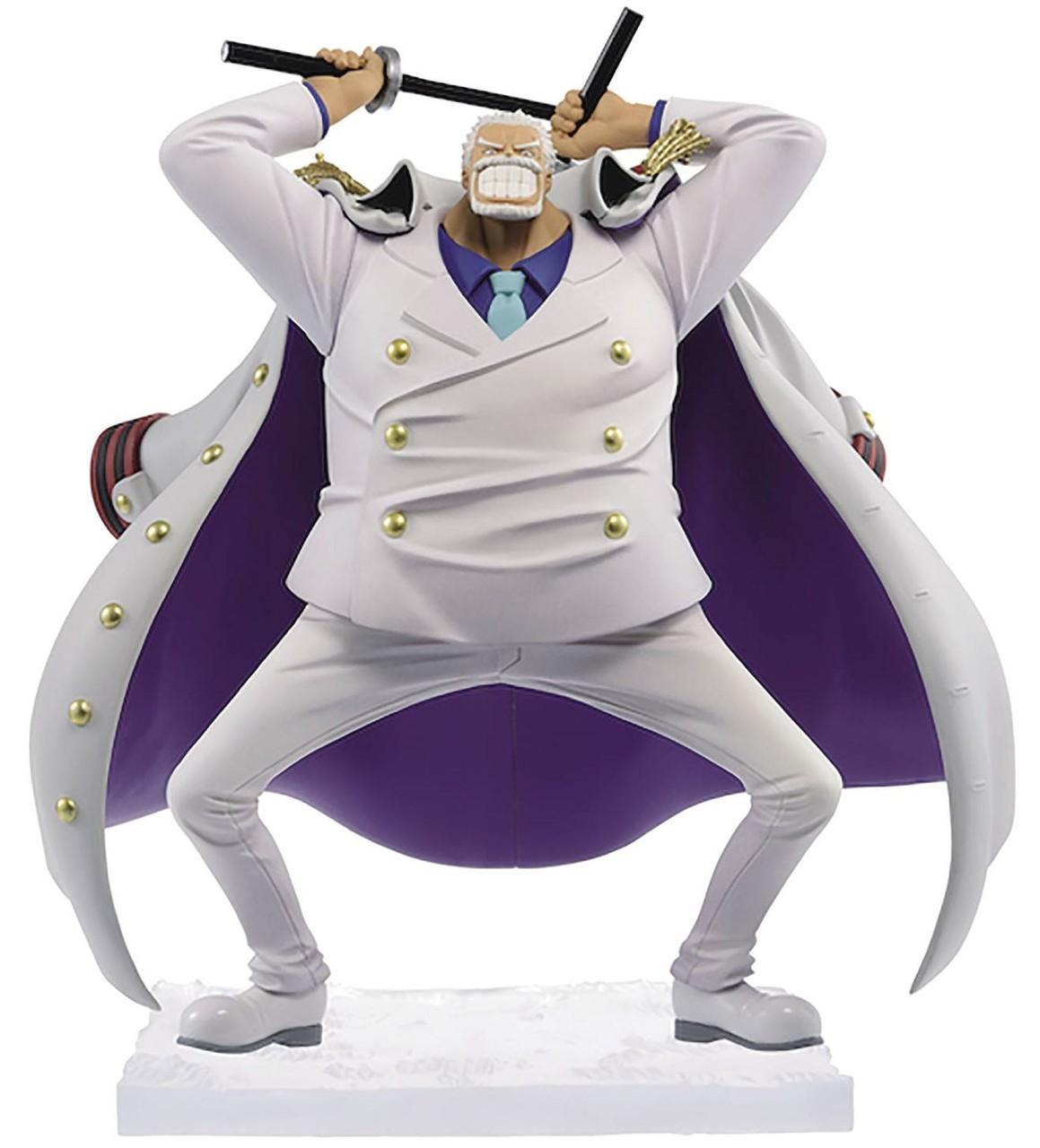 One Piece - Monkey D. Garp magazine figure - Banpresto