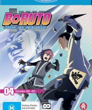 Boruto: Naruto Next Generations Part 4 (Eps 40-52) (Blu-Ray)