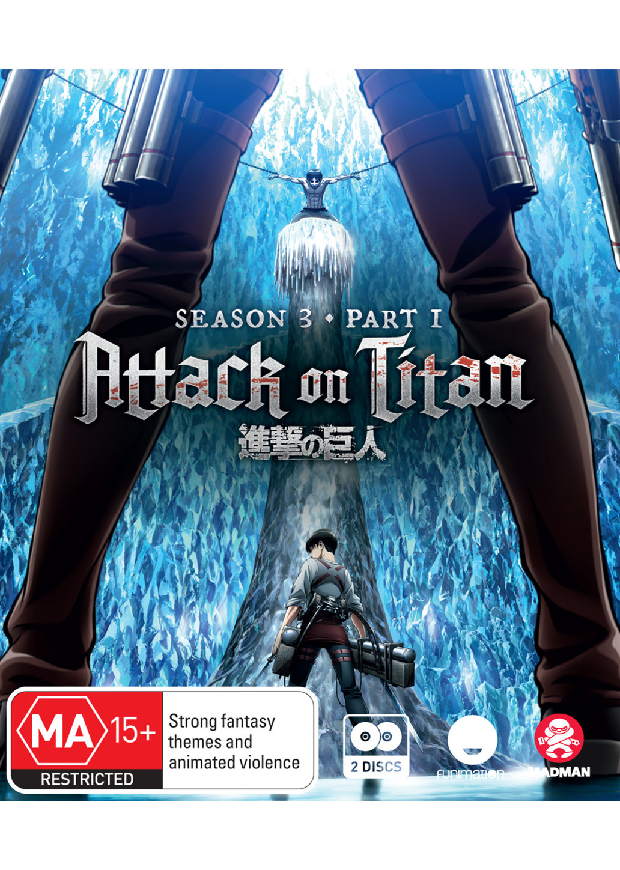 Attack on Titan - Season 3 Part 1 Blu-Ray - Animeworks