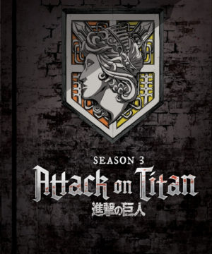 Attack on Titan - Season 3 Part 1 (Eps 38-49) DVD / Blu-Ray Combo (Limited Edition)