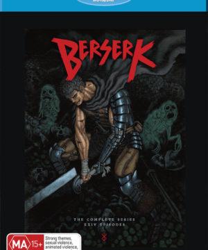 Berserk 2016 Complete Series blu-ray