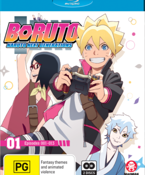Boruto: Naruto Next Generations Part 1 (Eps 1-13) (Blu-Ray)
