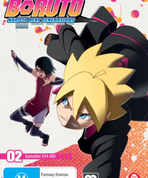 Boruto: Naruto Next Generations Part 2 (Eps 14-26 + Ova)