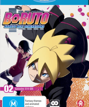 Boruto: Naruto Next Generations Part 2 (Eps 14-26 + Ova) (Blu-Ray)