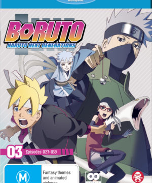 Boruto: Naruto Next Generations Part 3 (Eps 27-39) (Blu-Ray)