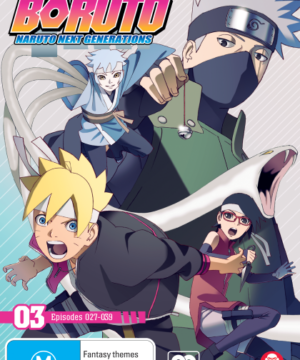 Boruto: Naruto Next Generations Part 3 (Eps 27-39)