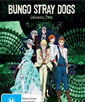 Bungo Stray Dogs Complete Season 2 DVD / Blu-Ray Combo