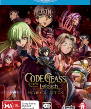 Code Geass Lelouch of the Rebellion Movie Collection
