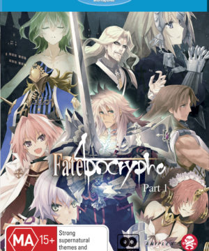 Fate/apocrypha Part 1 (Eps 1-12) (Blu-Ray)