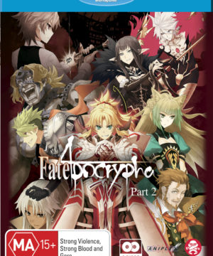 Fate/apocrypha Part 2 (Eps 13-25) (Blu-Ray)