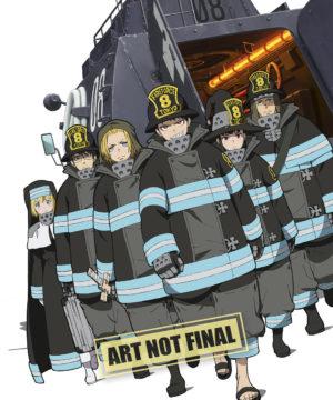 Fire Force Season 1 Part 1 (Blu-Ray)
