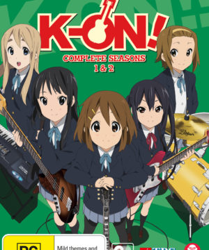 K-On! Ultimate Collection Season 1 2 Movie