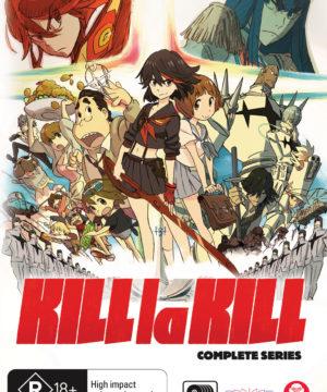 Kill La Kill Complete Series DVD