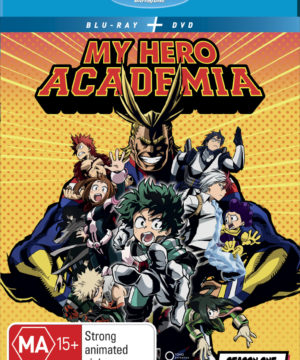 My Hero Academia Season 1 DVD / Blu-Ray Combo