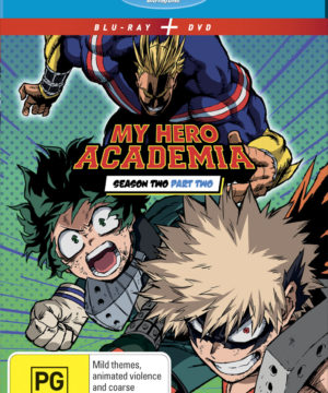 My Hero Academia Season 2 Part 2 DVD / Blu-Ray Combo