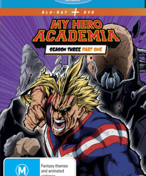 My Hero Academia Season 3 Part 1 DVD / Blu-Ray Combo