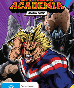 My Hero Academia Season 3 Part 1 DVD / Blu-Ray Combo (Limited Edition)