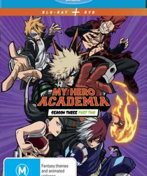 My Hero Academia Season 3 Part 2 DVD / Blu-Ray Combo